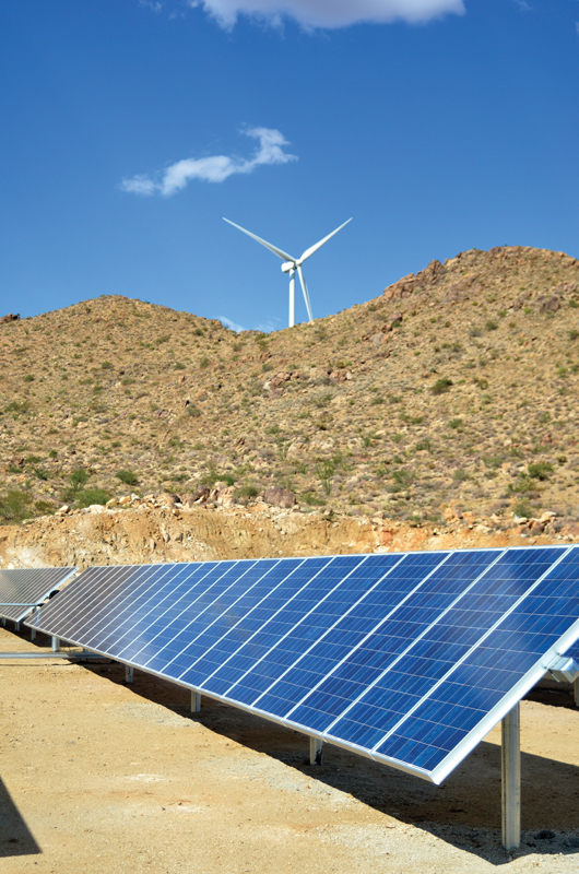 Solar/wind combo project in Arizona: Back Issues, altenerG.com ...