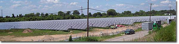 The Exelon-Epuron Solar Energy Center is the nation's fifth largest solar photovoltaic (PV) generation project