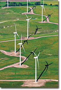 Smoky Hills wind power project